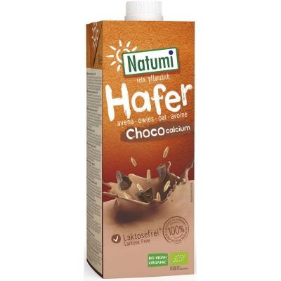 Natumi Napój owsiano-czekoladowy z wapniem z alg morskich bio 1 l bio