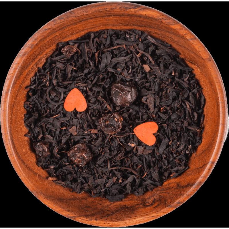 "Czarna herbata ""Żurawinowe love"""