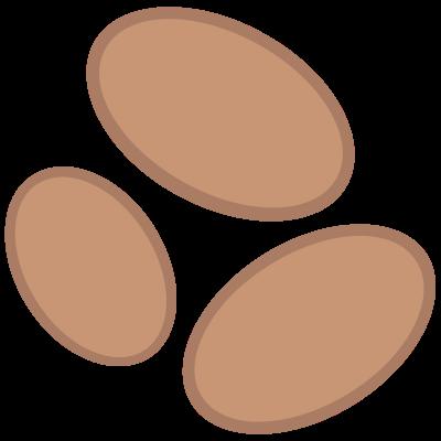 Muszelki czekoladowe
