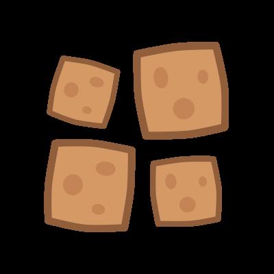 Poduszeczki zbożowe o smaku czekolady