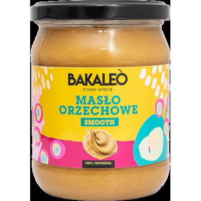 Masło orzechowe. Pasta z orzechów ziemnych Bakaleo