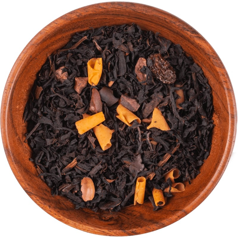 "Czarna herbata ""Karmelleone"""