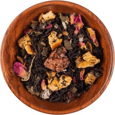 "Czarna herbata ""Malinowy Chruśniak"""