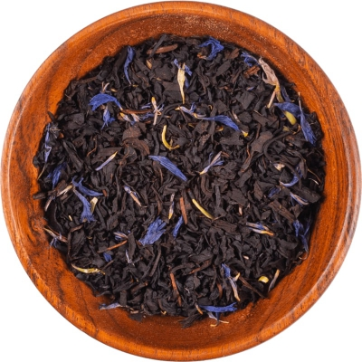 "Czarna herbata ""Błękitna Bergamotka"""