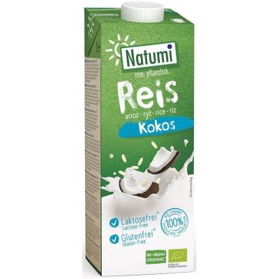 Natumi Napój ryżowo-kokosowy bezglutenowy bio 1 l