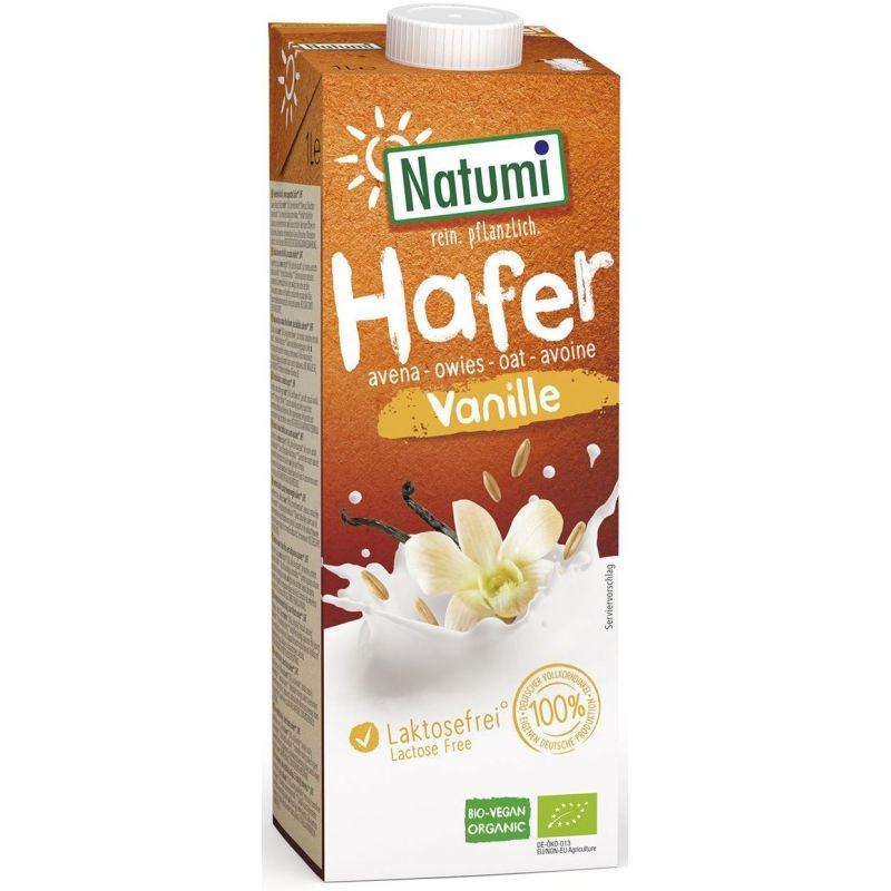 Natumi Napój owsiano-waniliowy 1 l bio