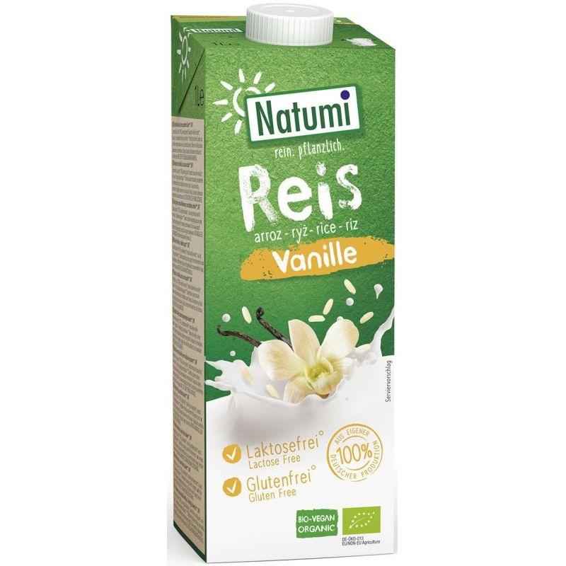 Natumi Napój ryżowo-waniliowy bezglutenowy 1 l bio