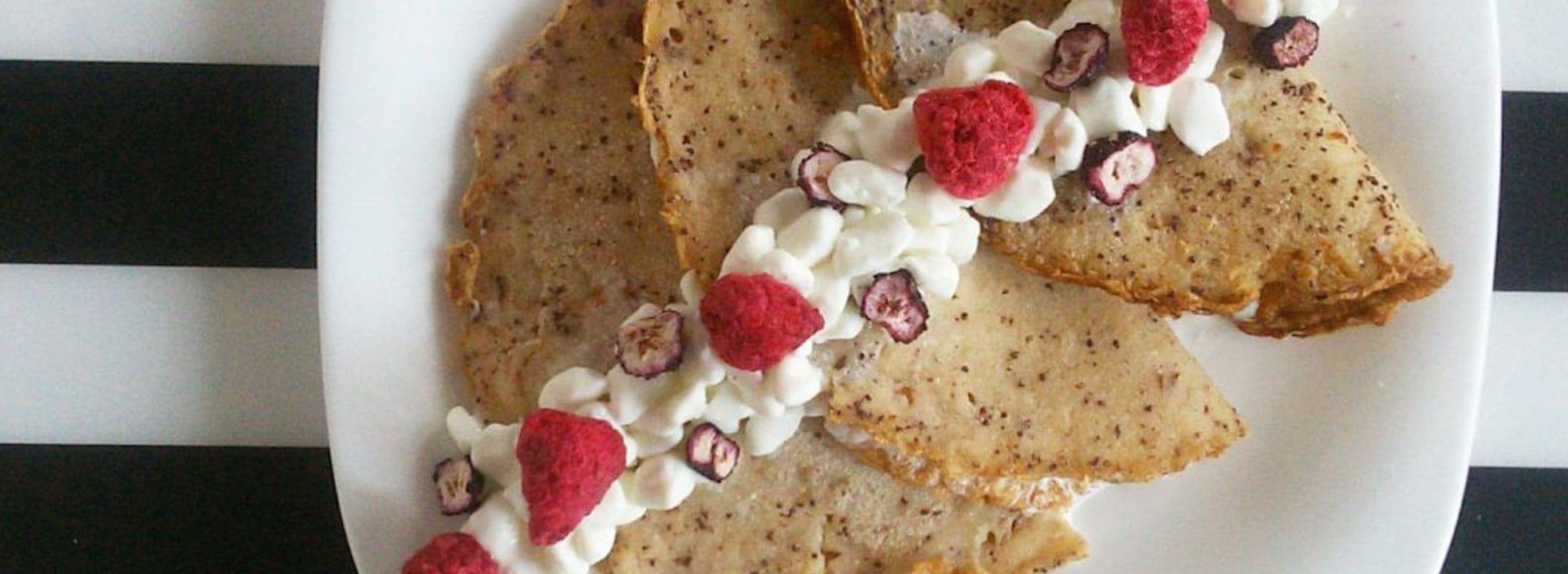 Obiad na słodko – bezglutenowe naleśniki z makiem