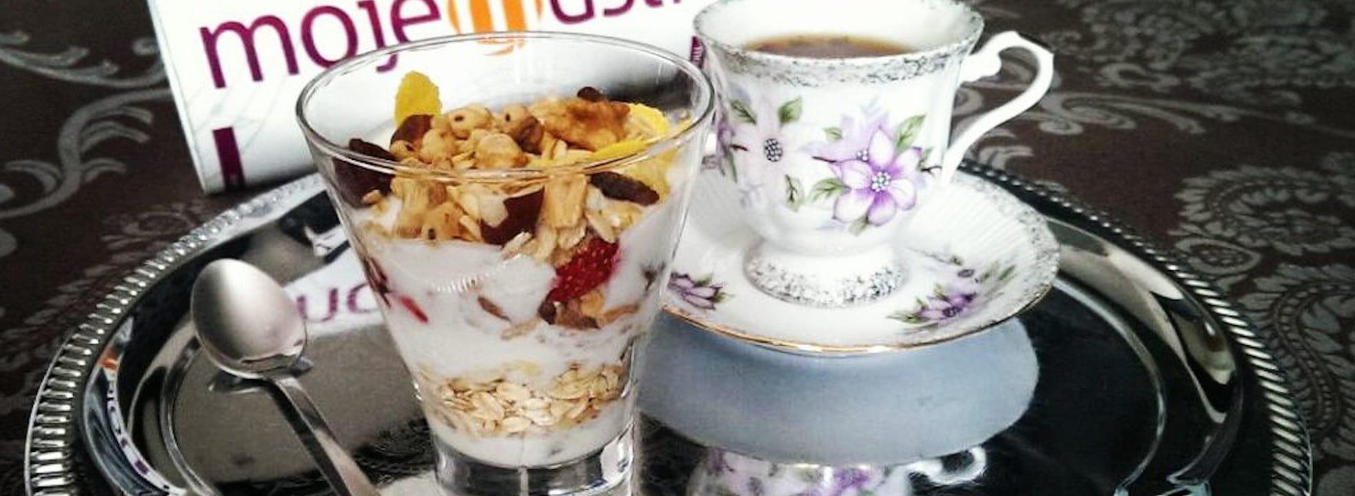 Pomysł na śniadanie do łóżka